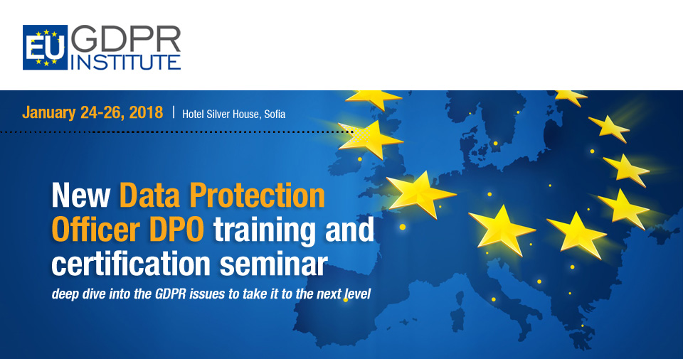 New Data Protection Officer Dpo Training And Certification Seminar